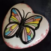 Dish - Heart with Butterfly 1