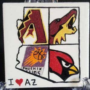 I Love Az - sports teams