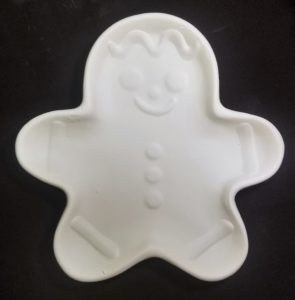 Plate - Gingerbread Man - Large