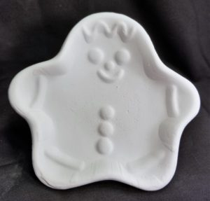 Plate - Gingerbread small